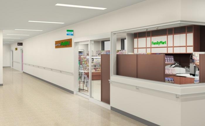 ファミリーマート、千葉大学病院内に新店舗 院内唯一の24時間営業