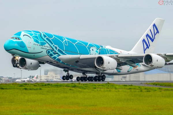 ホヌ 飛行 フライング 遊覧 ANAホノルル線のA380遊覧飛行、セブン系旅行会社がエコノミー全席の受託販売へ