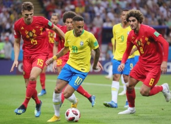 ブラジル4強ならず 王国の守りを崩したベルギーの戦術変更