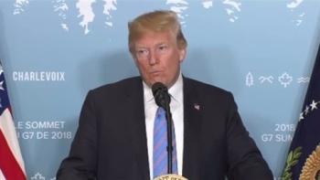 トランプ大統領、G7で安倍首相に暴言か